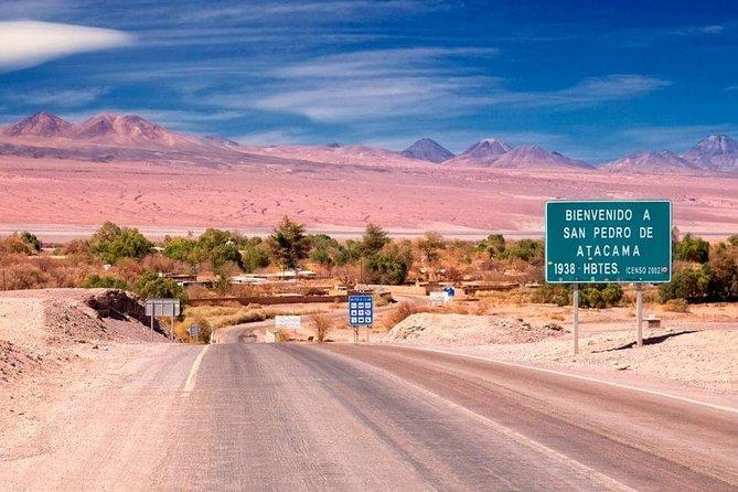 Transfer El Loa Airport to San Pedro de Atacama Hotels Shared Service