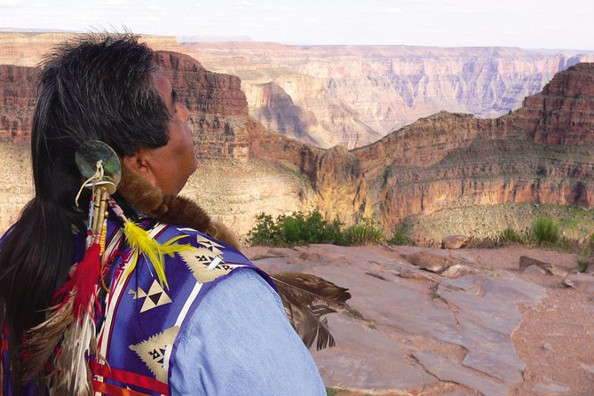 Grand Canyon West Rim Day Trip by Bus with Helicopter and Boat