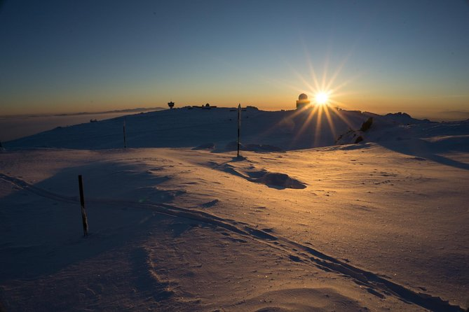 Full-Day Vitosha Mountain Winter Hiking Tour with Snowshoes from Sofia
