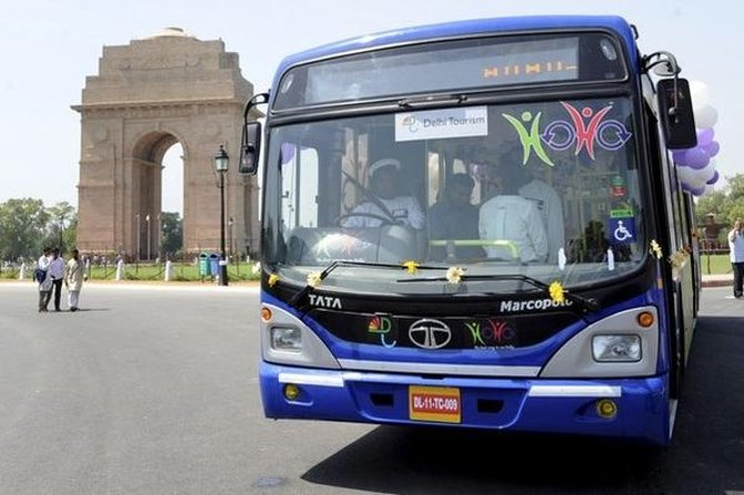 Delhi Super Saver: Sightseeing Tour by HOHO Bus