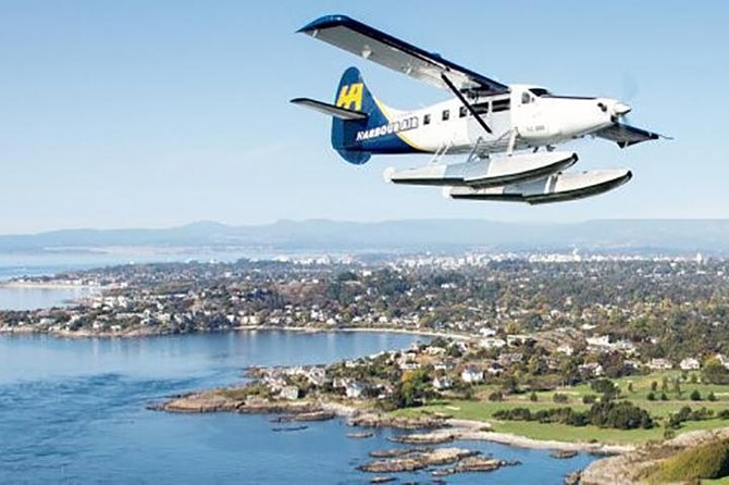 Whales & Fly: Whale Watching from Vancouver to Victoria & Return Seaplane Flight