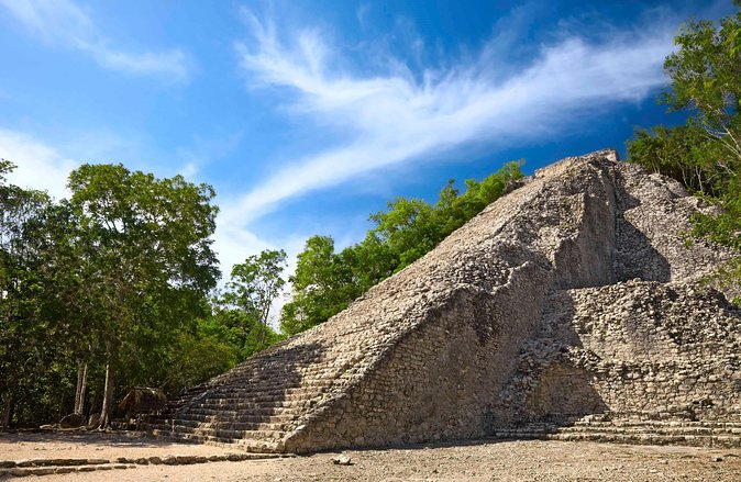Viator Exclusive: Coba Ruins Early Access with Cenote Swim & Lunch from Cancun