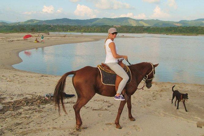 Excursión a caballo a Atotonilco y visita a aguas termales