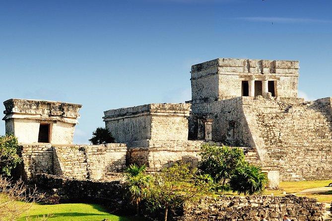 Tulum Ruïnes Vroegtijdige Toegang Tour & Rio Secreto Natuurreservaat vanuit Playa del Carmen