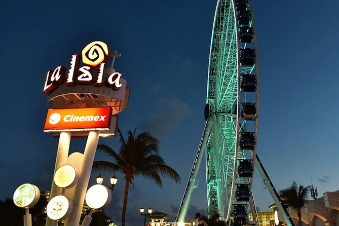 Gran Rueda Cancun: Observation Wheel with optional VIP Booth Access
