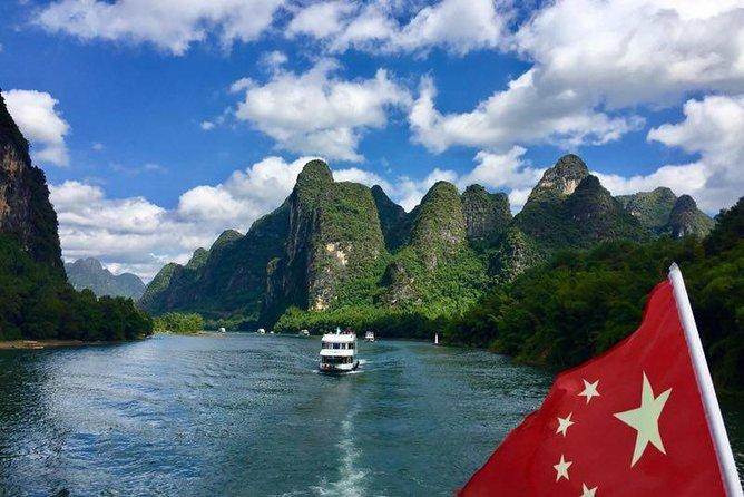 Day trip for Li river cruise and the Impression San Jie Liu show in Yangshuo