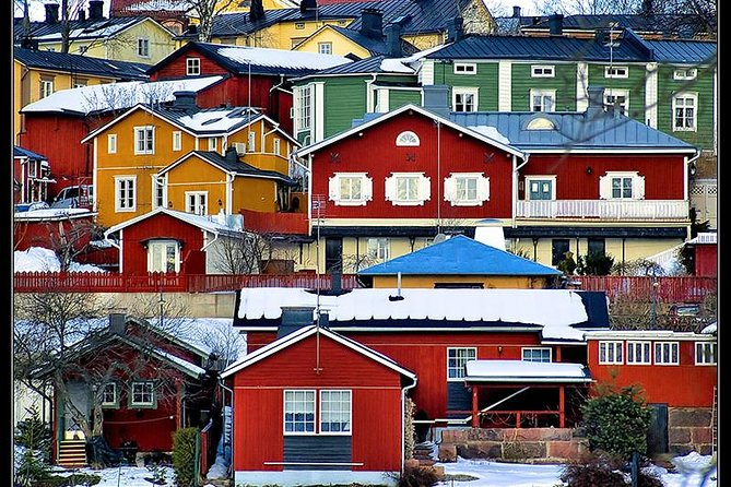 Daily Small Group Porvoo Tour