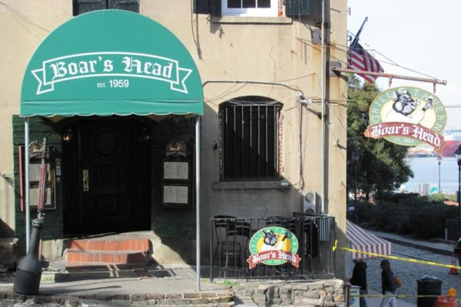 Savannah's Haunted Historic Pub and Tavern Tour