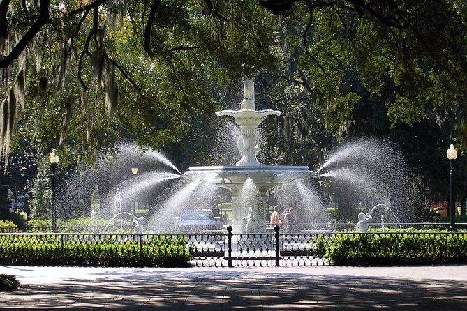 Les portes et les jardins de Savannah