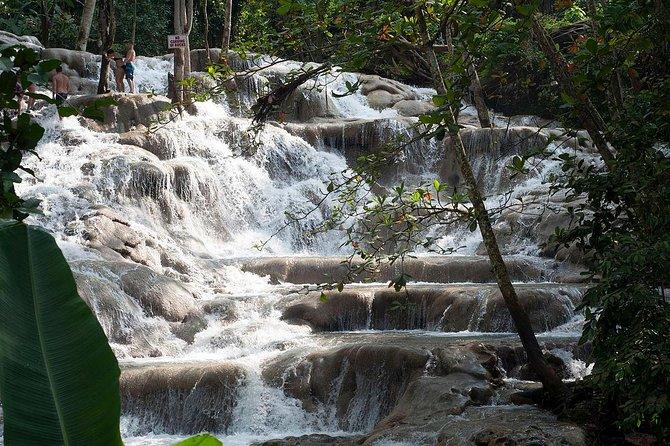 Chuck Norris Secret Falls and Dunn's River Falls