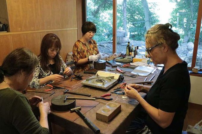 Silver Accessory Handcraft Workshop in Kanagawa