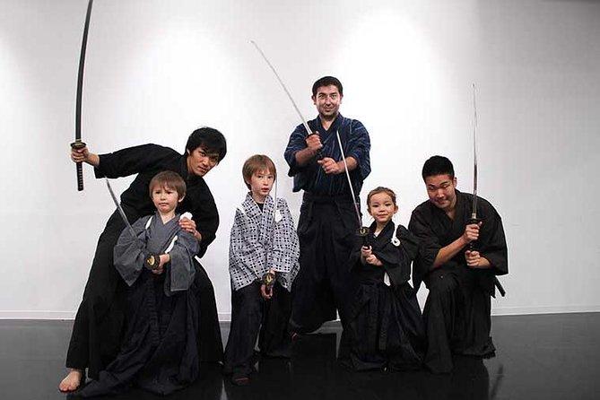 "Samurai ""Sword Battle"" In Action Movie in Shinjuku"