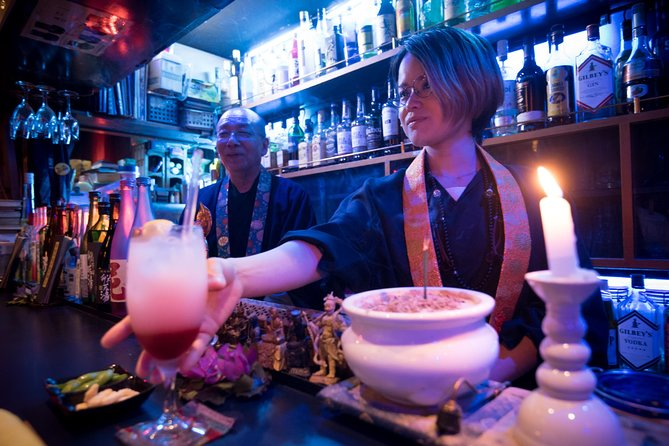 Shakyo Sutra Copying Experience at Monk Bar in Tokyo