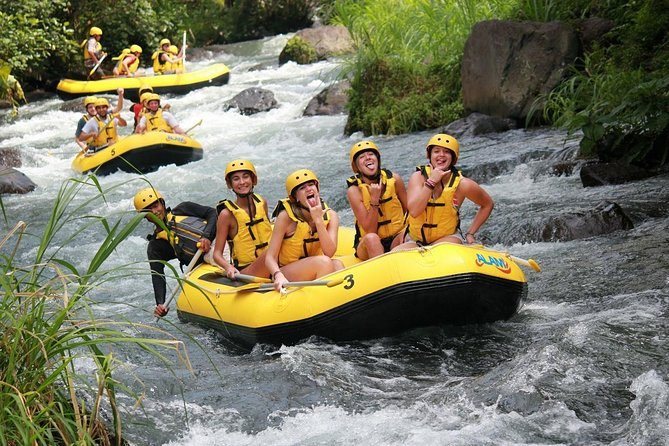 Combination Tours - White water Rafting and Ubud Village