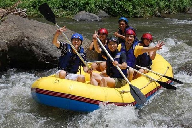 Combination Tour: Whitewater Rafting and Ubud Village