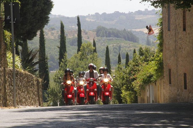Full-Day Chianti Tour by Vespa Scooter