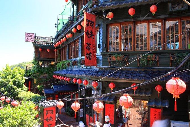 Keelung Shore Excursion: Jiufen Old Street & Pingxi Sky Lantern Private Tour