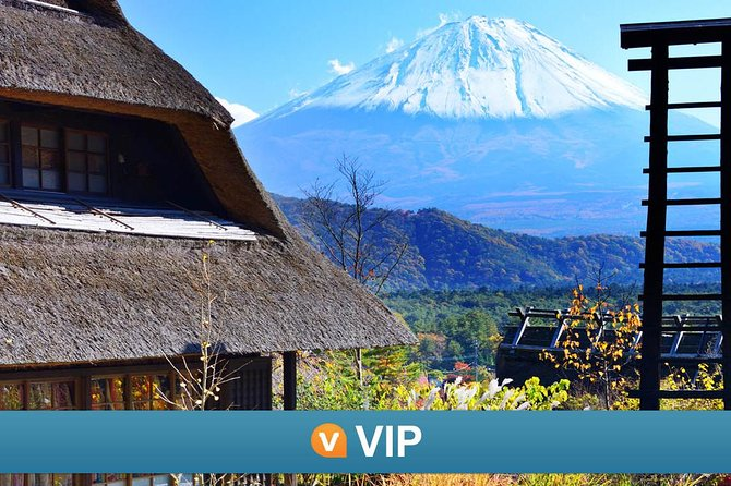 VIP: Mt Fuji Private Tour with Sengen Shrine Visit from Tokyo
