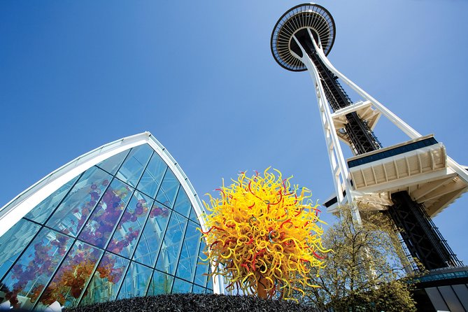 Space Needle and Chihuly Garden and Glass Combination Ticket
