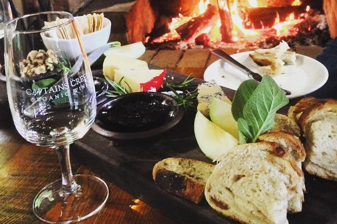 Abfahrt von Ballarat mit Wein, Apfelwein und lokalen Produkten
