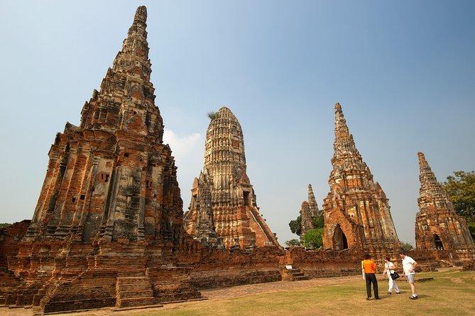 Ancienne cité d'Ayutthaya en train