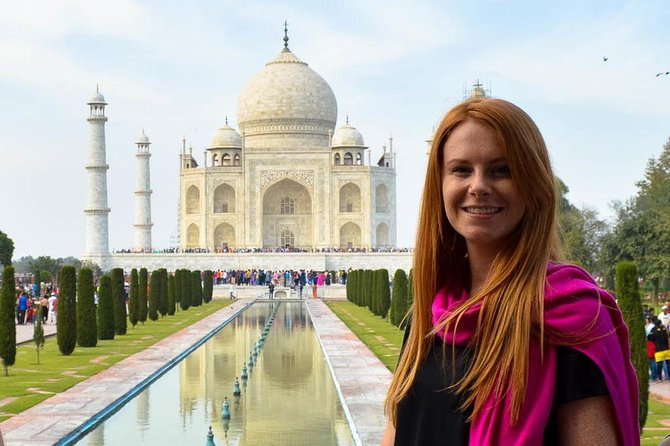 Private Taj Mahal and Agra Full-Day Tour from Delhi by Gatimaan Express Train