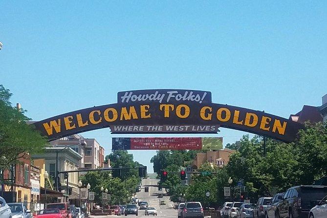 Golden Colorado home of Coors Beer