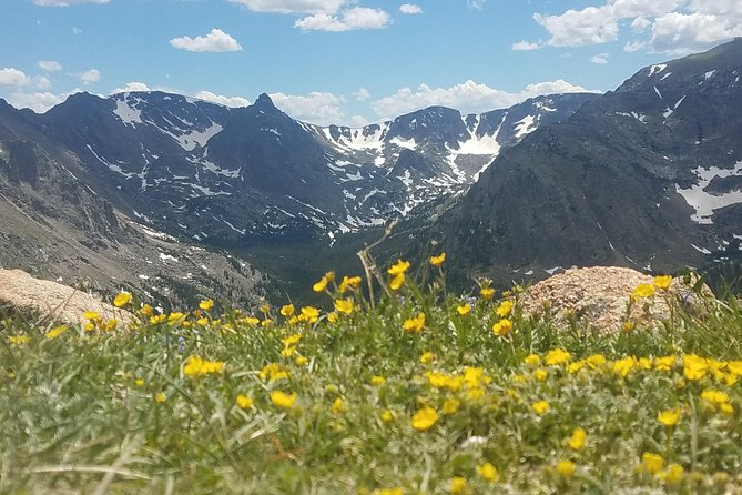 Rocky Mountain National Park in Summer from Denver