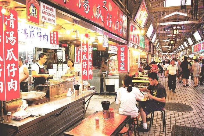 台北のグルメと市場のプライベート イブニングツアー