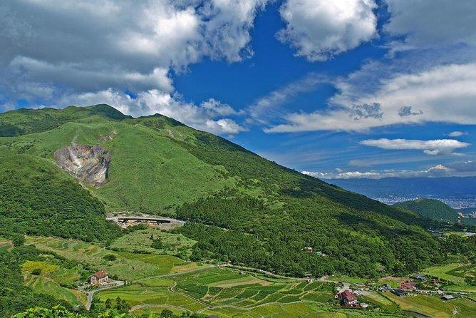 プライベート ツアー:台北発、陽明山国家公園への日帰り旅行