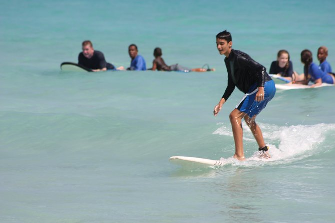 Surf Lesson at Playa Encuentro