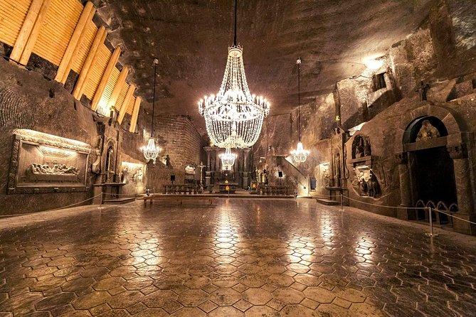 Guided Salt Mine Wieliczka tour from Krakow