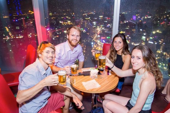 Drink on Bitexco and Dinner on Cruise