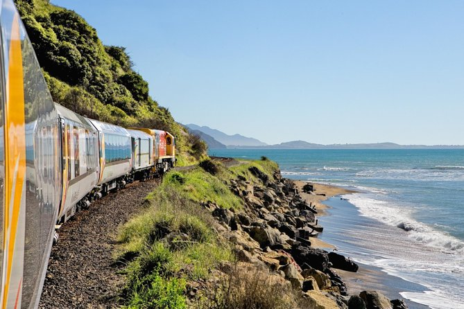Coastal Pacific Journey - Picton a Christchurch en tren