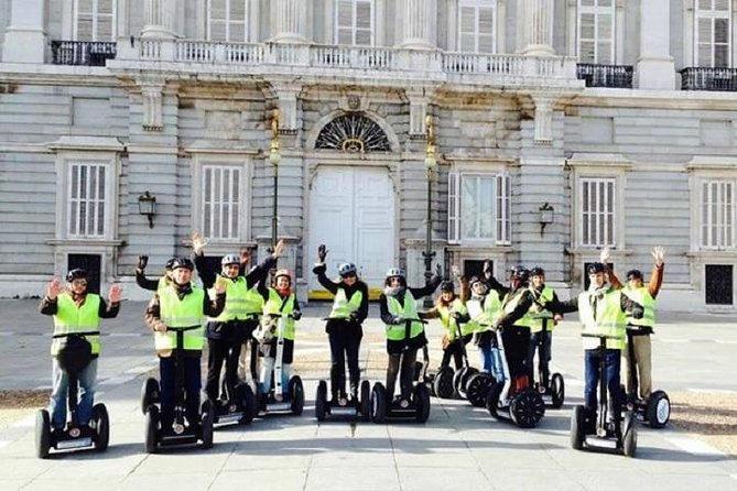 Segway ride in the old city of Madrid