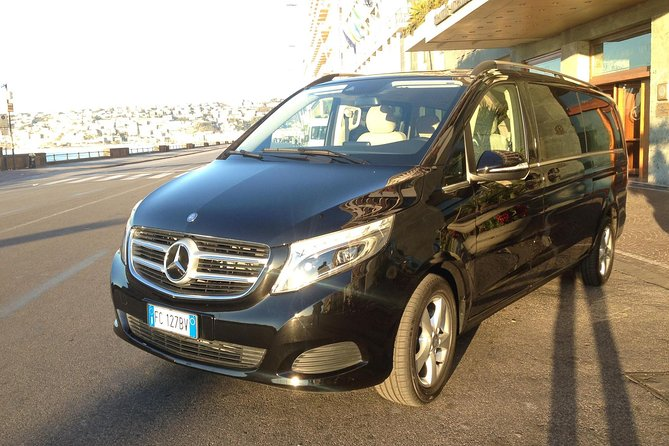 Transfers from Naples Airport for all destinations with luxury cars