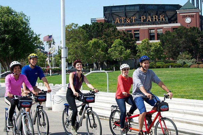 San Francisco Bike Rental from Fisherman's Wharf or Union Square
