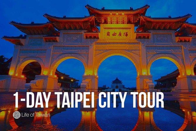 1-Day Taipei City Private Tour