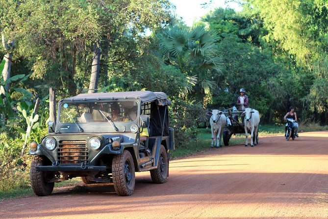 Half Day Floating Village Jeep Tour from Siem Reap