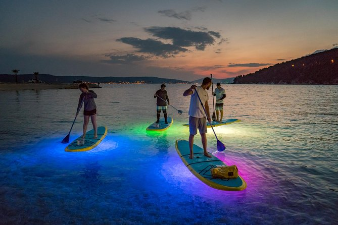 Glowing Stand-Up Paddle Experience in Split