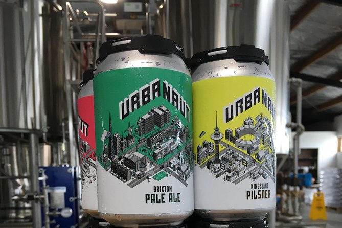 Tour and Tastings in an Urban Craft Beer Brewery