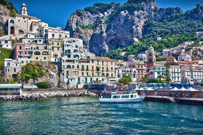 Amalfi Shared Tour - with pick up