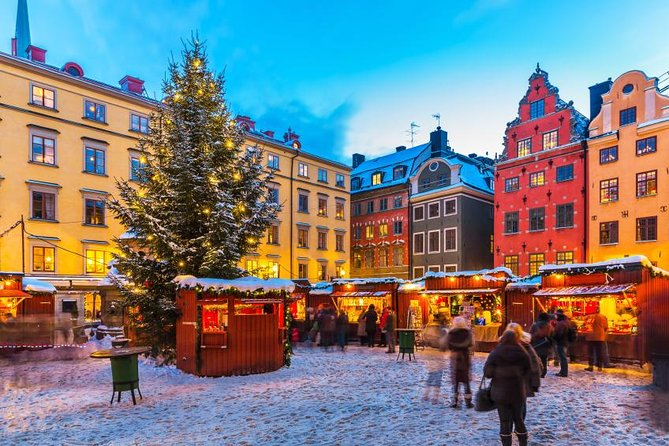 The Christmas Market Tour in Stockholm