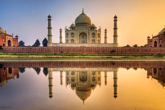 Full Day Taj Mahal & Agra Excursion By Express Train From Delhi