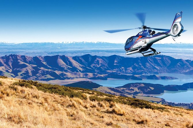 Akaroa Helicopter Tour from Christchurch