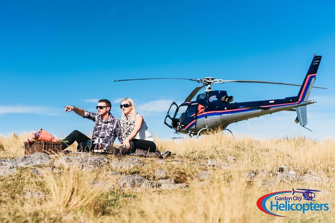 Love in the Air Christchurch Helikoptervlucht met Port Hills Landing