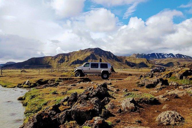 Geothermal Jeep Tour in Landmannalaugar with Hiking