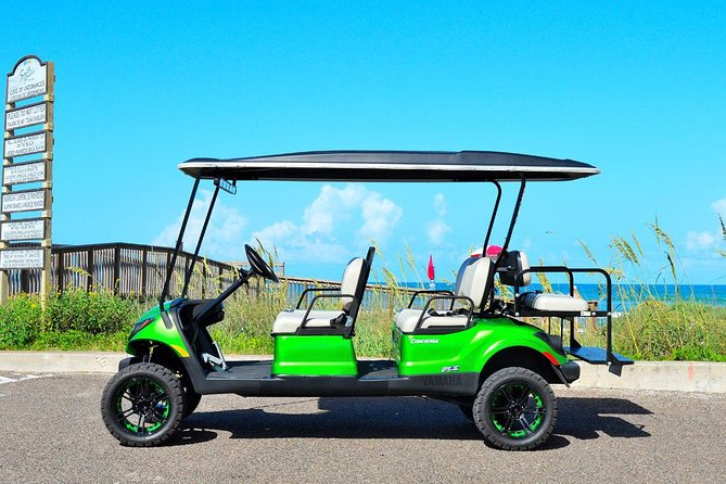 4-Hour Golf Cart Rental in South Padre Island for 6 passenger