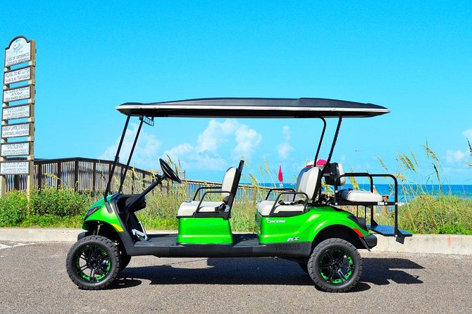 24-Hour Golf Cart Rental in South Padre Island for 6 Passenger
