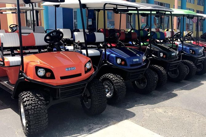 8-Hour Golf Cart Rental in South Padre Island for 4 Passengers